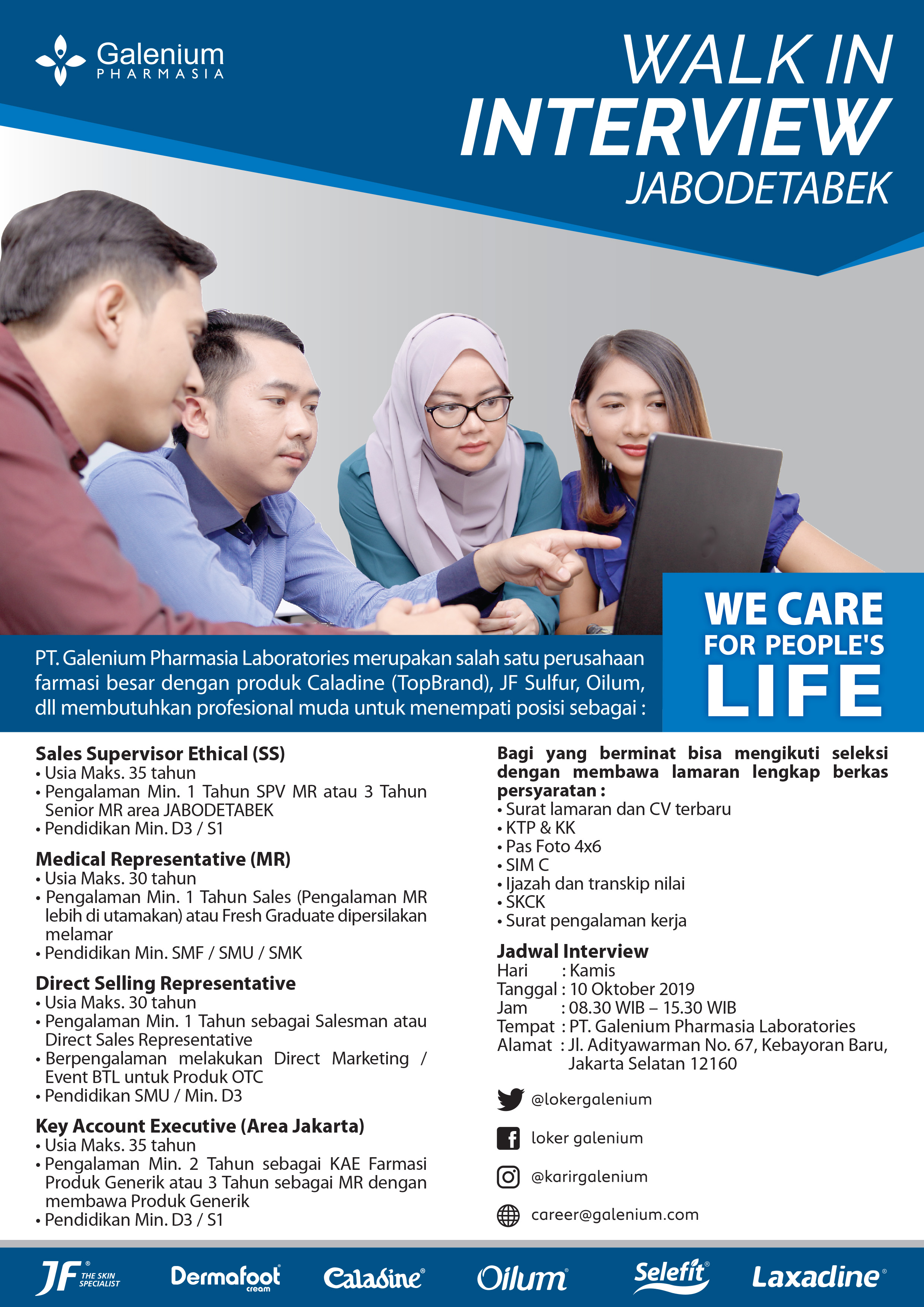 WALK IN INTERVIEW JABODETABEK